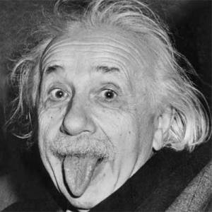 Einstein kept his moustache after the end of Movember. You don't have to.