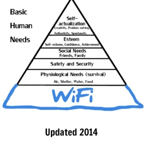 If anyone claims you can have a meaningful life without a good WiFi connection, they're probably ill. And wrong.