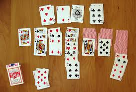 Playing Patience at cards is less likely to lead to serious injury than playing cricket.